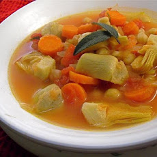 Artichoke and Garbanzo Stew