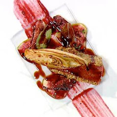 Peppered Venison Loin With Hazelnuts And Figs