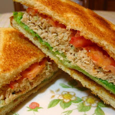 Kittencal's Simple and Delicious Salmon Salad Sandwich
