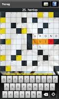 Screenshot of Kruiswoord Gratis