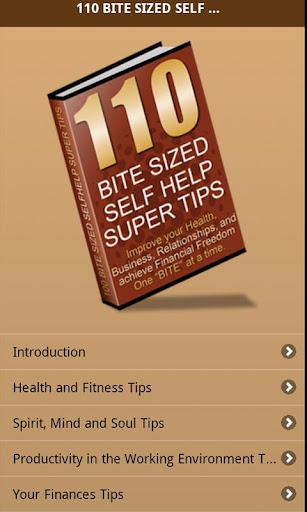 110 Bite Sized Self Help Tips