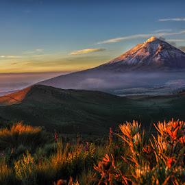 sunrise by Cristobal Garciaferro Rubio - Landscapes Mountains & Hills