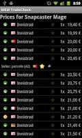 Screenshot of MKM Tradecheck (MTG)