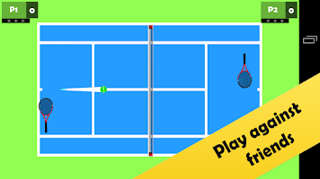 Screenshot of Tennis