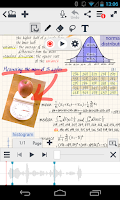 Screenshot of MetaMoJi Note