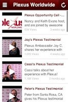Screenshot of Plexus Ambassadors