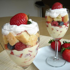Berries & Cream Trifle