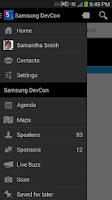 Screenshot of Samsung Developers Conference