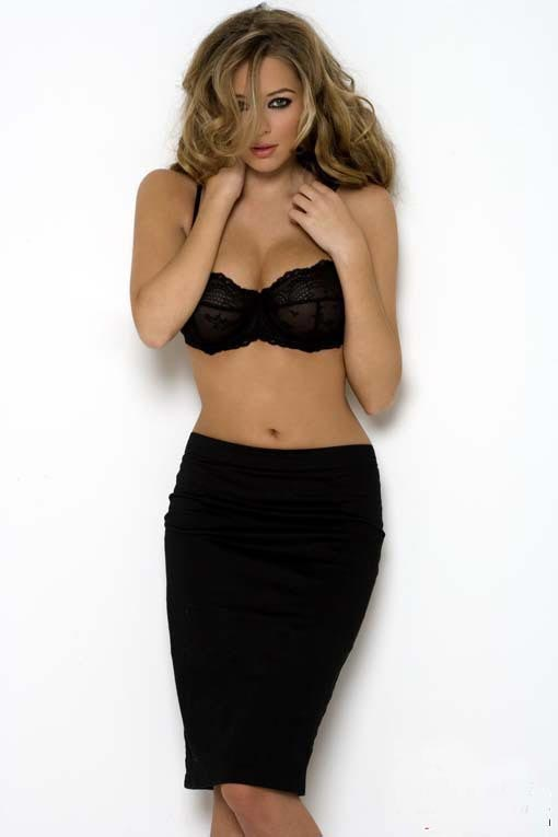 long hair - celebrity  hairstyles - Keeley Hazell 7