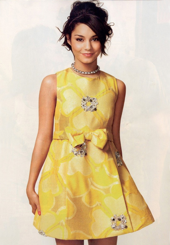 Vanessa Hudgens Glamour Magazine Photo Shoot May 2010