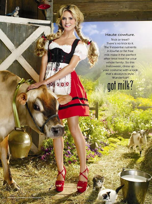 Heidi Klum-Got Milk