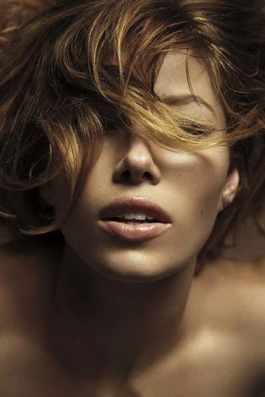Jessica Biel Marie Claire Photos