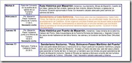 PROGRAMACIÓN SERVICIO DE OCIO 2008-2