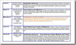 PROGRAMACIÓN SERVICIO DE OCIO 2008-4