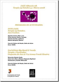 INVITACIONES JAZZ 08