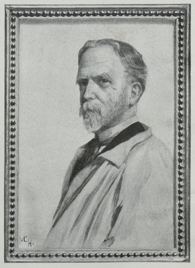 James Wells Champney was an artist; a master of pastels and reproductions. He studied in Paris and made a name for himself back in the U.S., in Boston and New York. He was a member of many New York art clubs, the Century Club, the Players' Club, and the National Arts Club among them. Several of his works were exhibited at Knoedler's Gallery on Fifth Avenue.