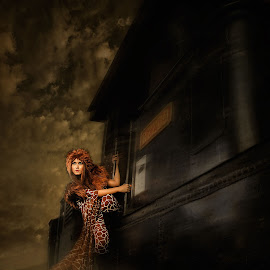 Runaway Train by Andri Jangkoeng - People Fine Art ( models, artfashion, fashion, train, portrait )
