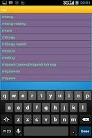 Screenshot of Kamus Sunda Indonesia