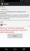 Screenshot of TaskKill Tasker Plugin [Root]