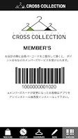 Screenshot of CROSS COLLECTION