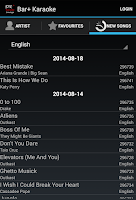 Screenshot of Bar+ Karaoke