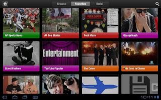 Screenshot of ChannelCaster: Social News