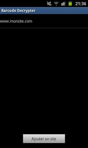 Barcode Decrypter