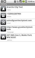 Screenshot of Granite City Tool