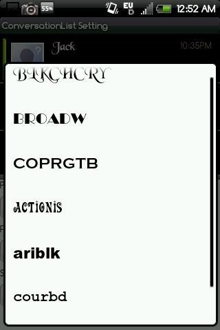 【免費通訊App】Handcent Font Pack2-APP點子