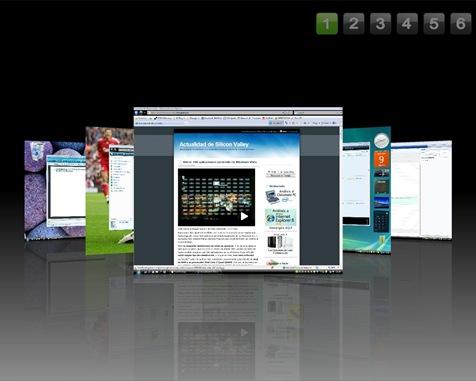 CubeDesktop CoverFlow