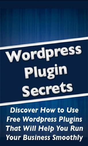 Wordpress Plugin Secrets Video
