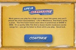 Screenshot of Life is Marbleous