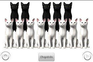 Screenshot of Piano Cats