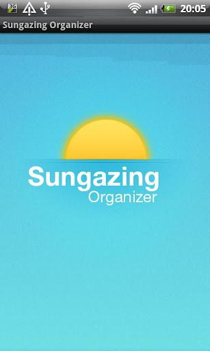 Sungazing Organizer