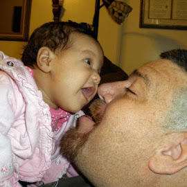 I got your nose grandpa! by Todd Reynolds - Babies & Children Babies