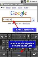 Screenshot of GetBlue Bluetooth Reader, Demo