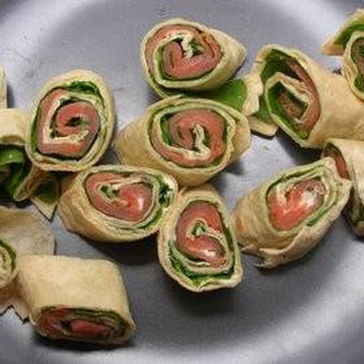 Wraps Met Roomkaas En Ham