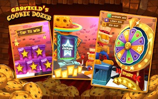 Screenshot of Garfield Cookie Dozer