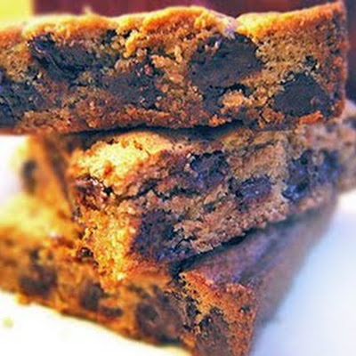 Decadent Peanut Butter Chocolate Chip Bars