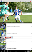 Screenshot of sc Heerenveen