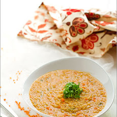Cream Of Red Lentil Soup