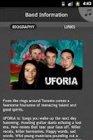 Screenshot of Uforia