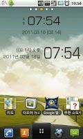 Screenshot of Simple Clock Widget