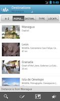 Screenshot of Nicaragua Guide by Triposo