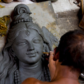 creation of The Creator by Koushik Chatterjee - People Street & Candids