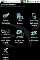 Screenshot of Banca Movil Banco Av Villas