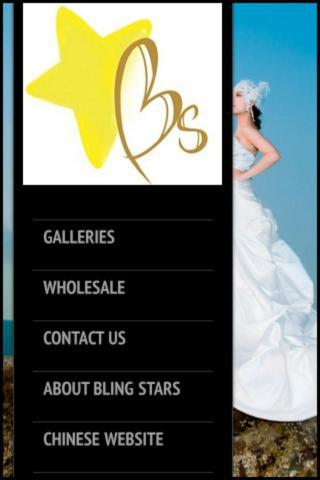 Bling Stars Wedding