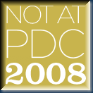 NotAtPDC-badge