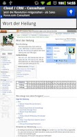 Screenshot of GuildWiki.de Browser
