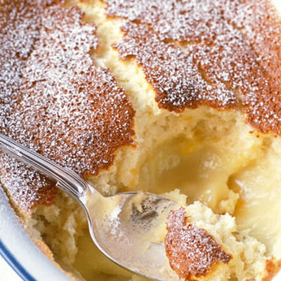 Lemon Self-saucing Pudding